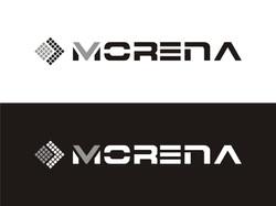 Logo Morena - wersja achromatyczna