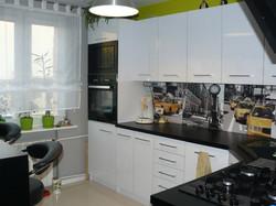 Kuchnia biało-czarna