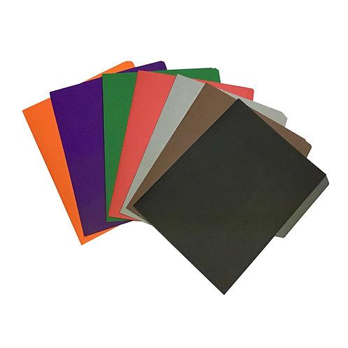 Folder tamaño carta colores brillantes (1 pieza)