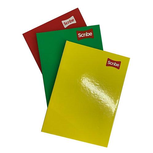 Cuaderno pasta dura forma francesa (1 pieza)