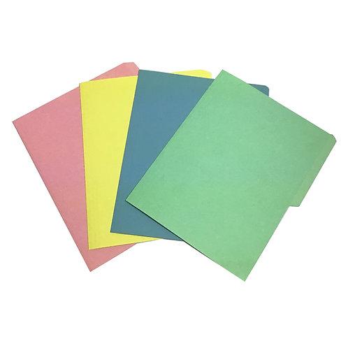 Folder tamaño carta colores pasteles (1 pieza)