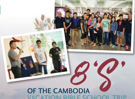 8 'S' of the Cambodia Vacation Bible School Trip