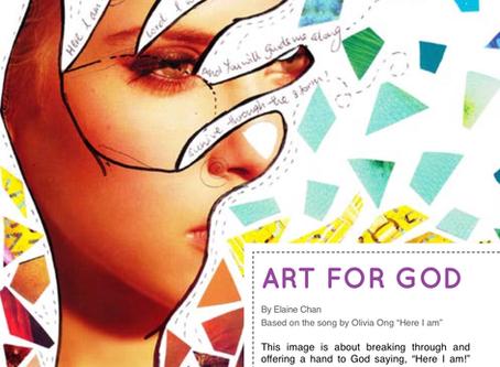 Art for God: Here I am!