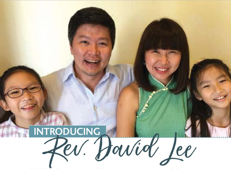 Introducing Rev. David Lee