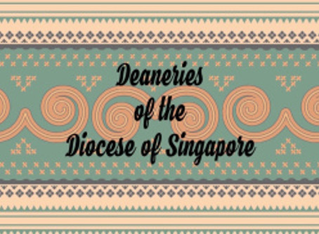 Deaneries of the Diocese of Singapore