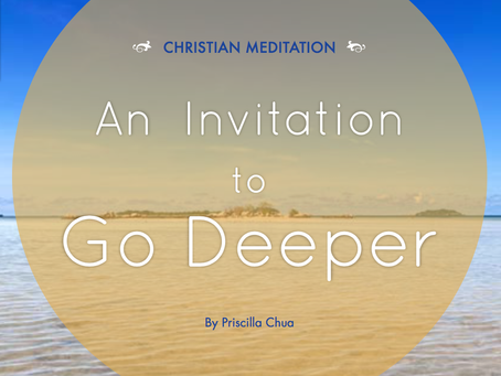 An Invitation To Go Deeper