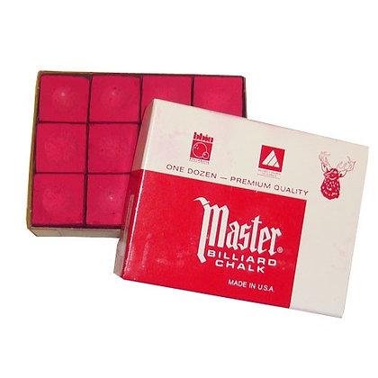 12 craies Master rouge