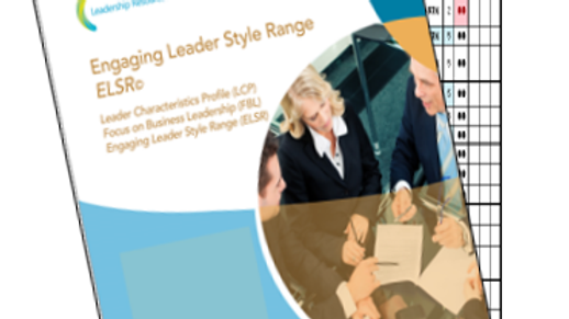 Engaging Leader Style Range 360 Assessment