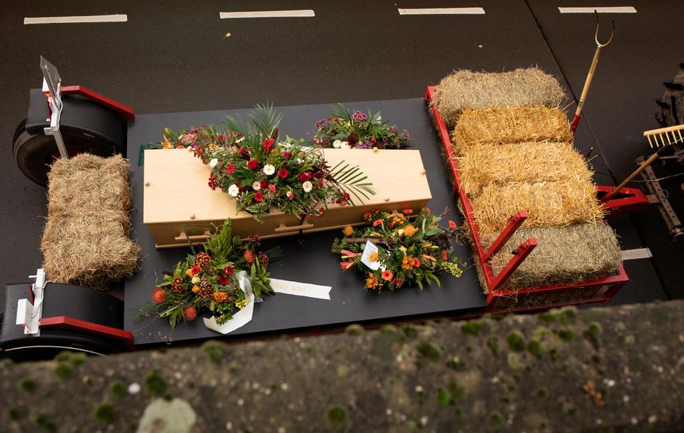 Begrafenis fotograaf Gelderland