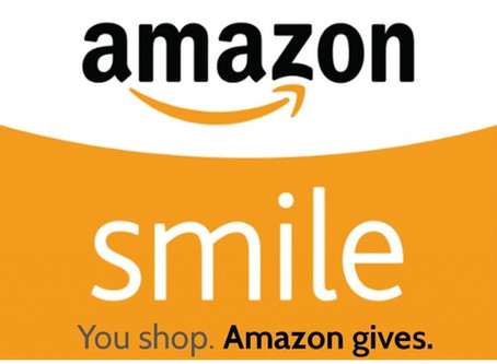 Give as you shop on Amazon