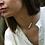 Thumbnail: Collier asymétrique 5 perles et scorpion