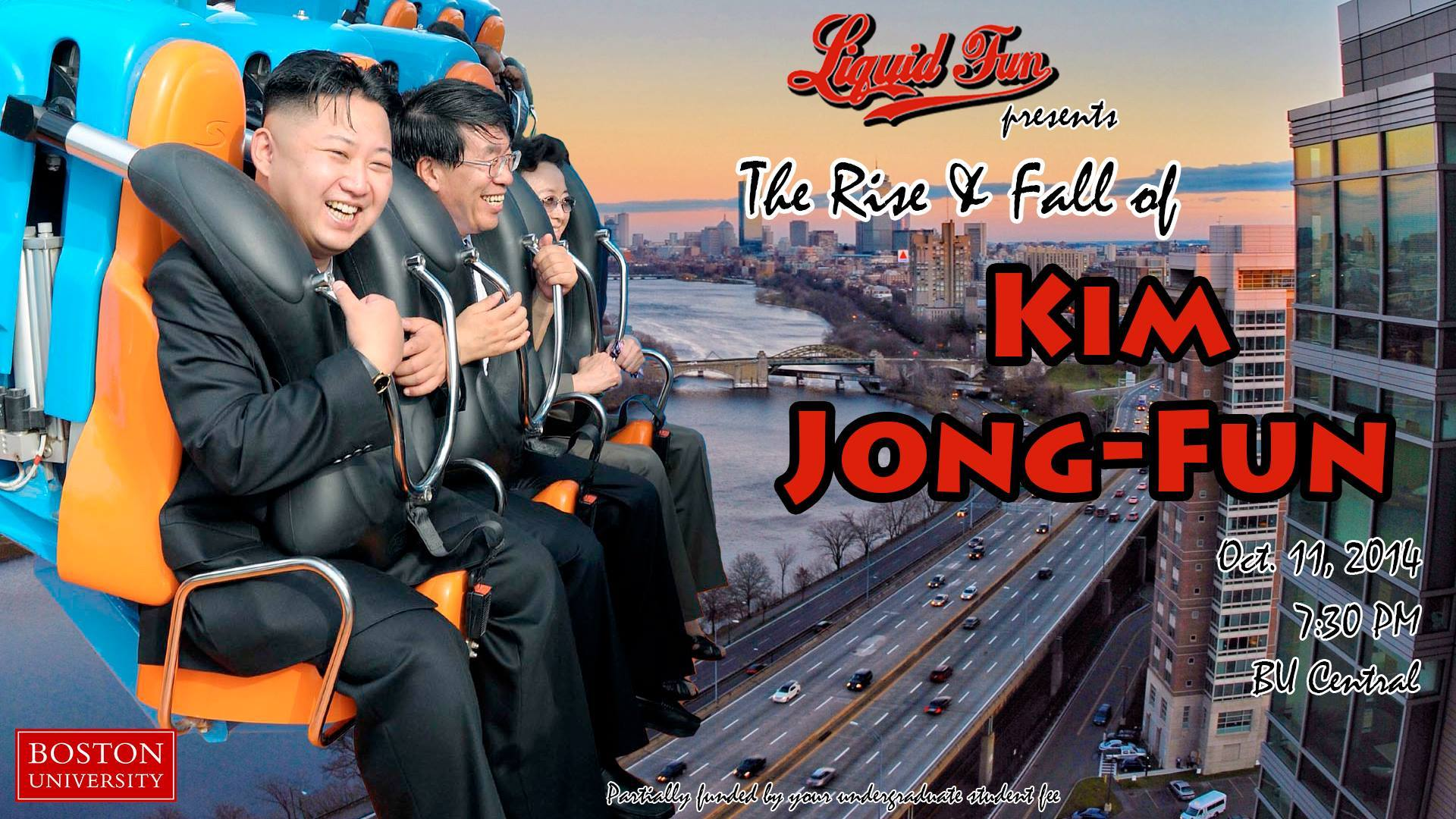 The Rise and Fall of Kim Jong-Fun