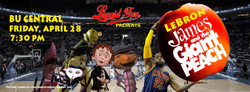 Lebron James and the Giant Peach