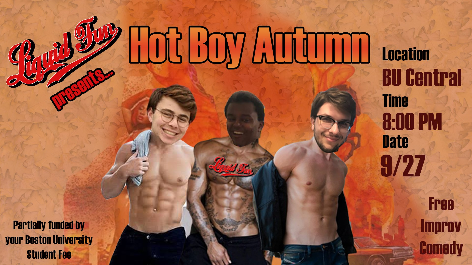 Hot Boy Autumn
