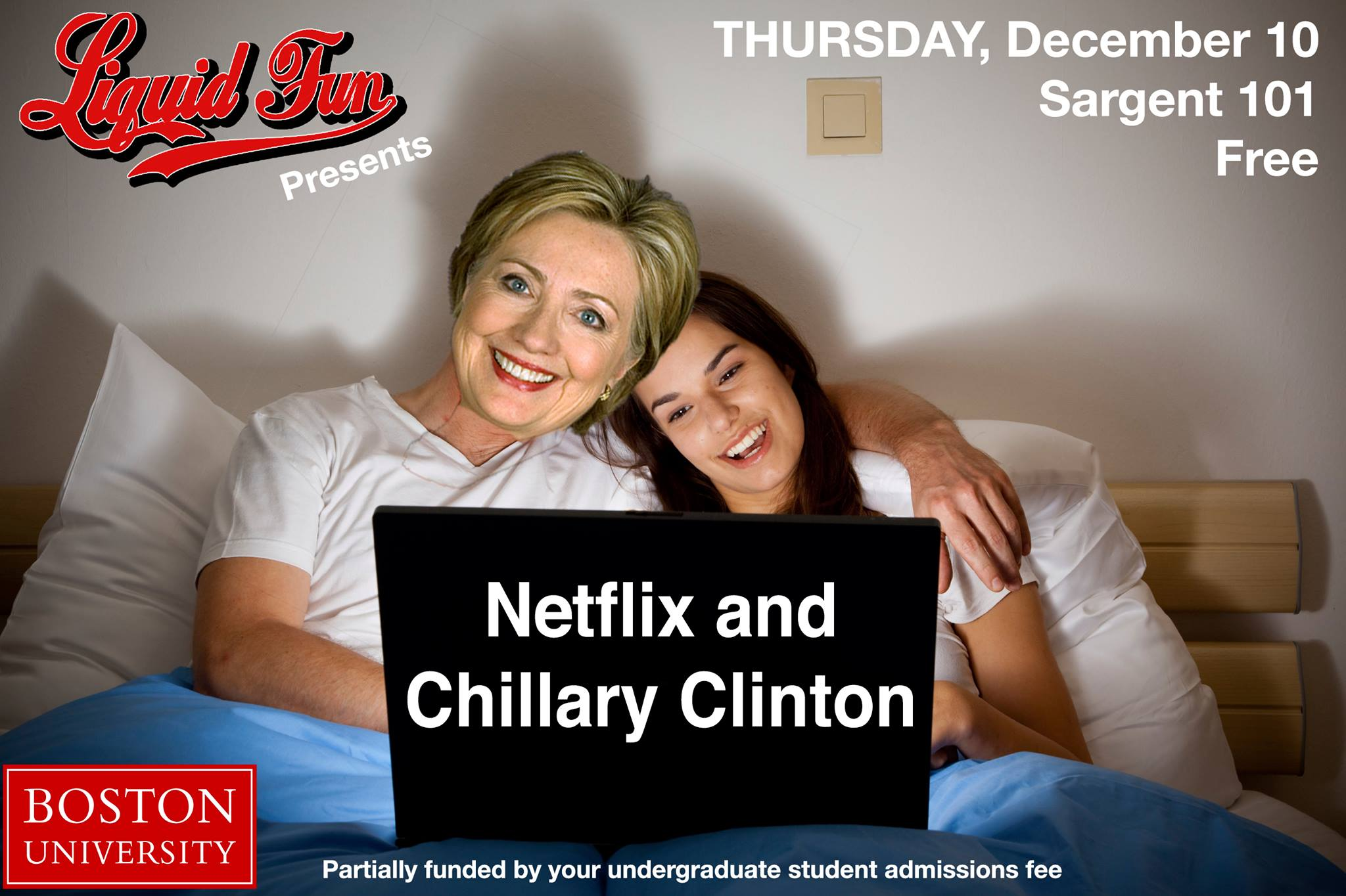 Netflix and Chillary Clinton