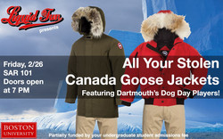 All Your Stolen Canada Goose Jackets