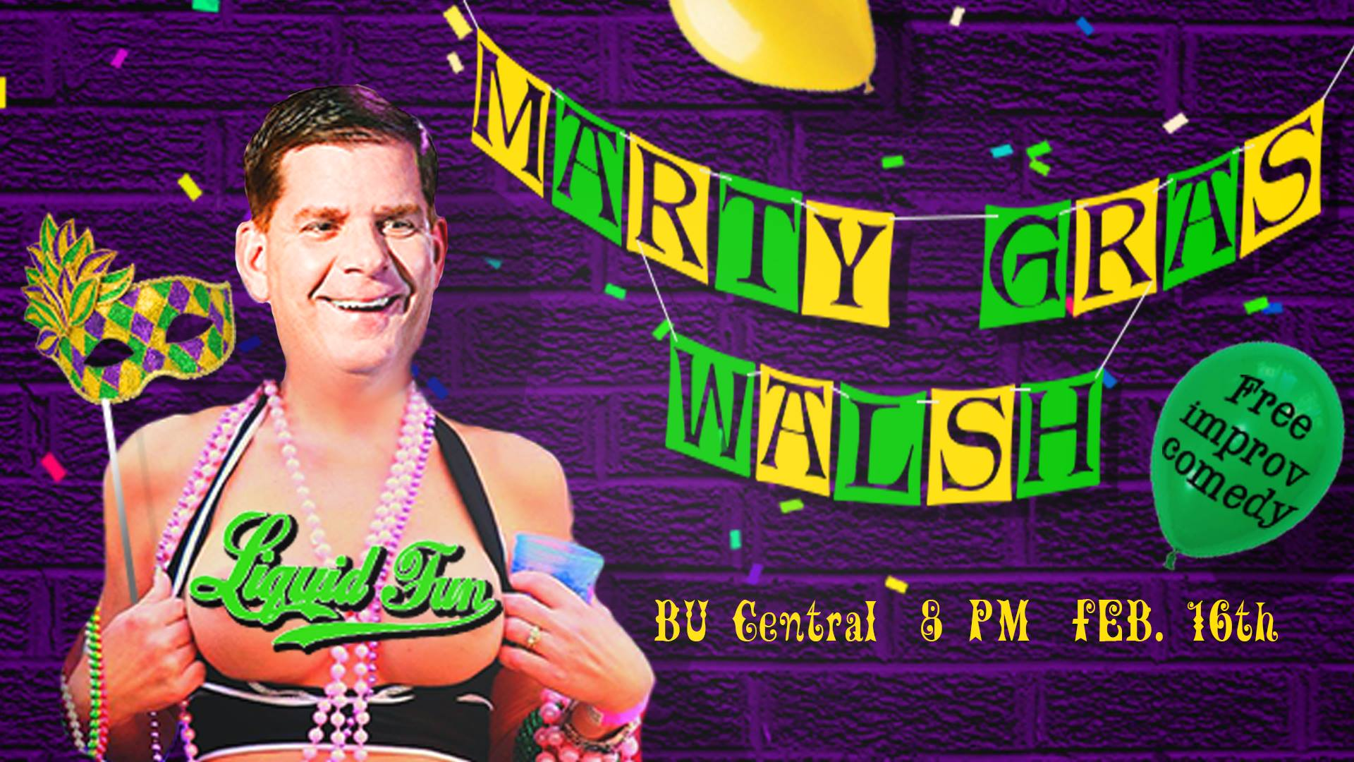 Marty Gras Walsh