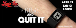 fitbit and QUIT IT