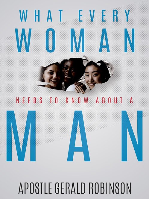 BOOK - WHAT EVERY WOMAN NEEDS TO KNOW ABOUT A MAN