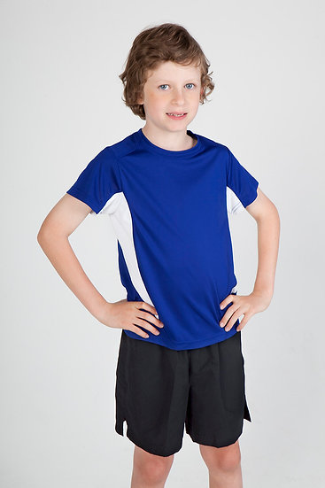 KIDS ACCELERATOR COOL DRY T-SHIRT - T307KS