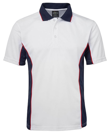 MENS CONTRAST POLO - 7PP