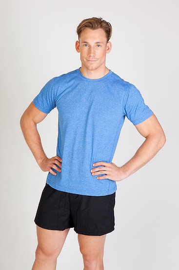 MENS GREATNESS HEATHER TEE - T449MS