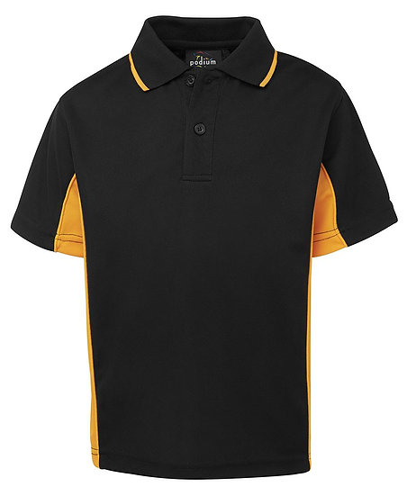 KIDS CONTRAST POLO - 7PP