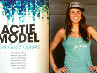 Interview Dutch Surf magazine about the photoshoot