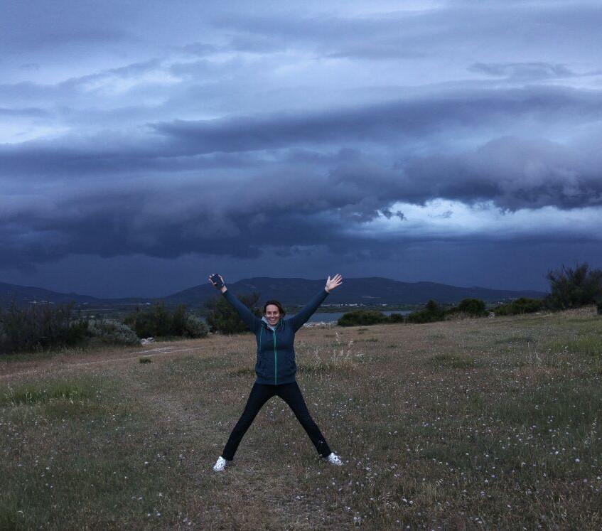 Leucate Storm coming up