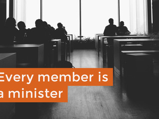 Every Member Is A Minister