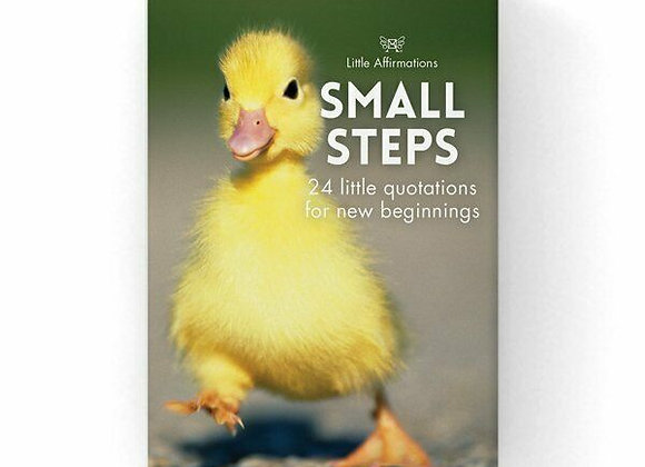 Affirmation Cards -Small Steps