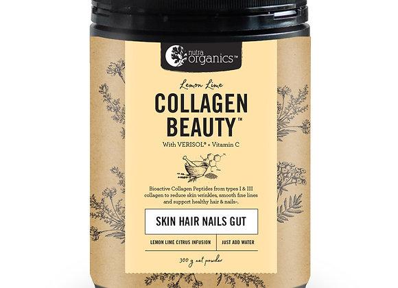 Collagen beauty lemon lime