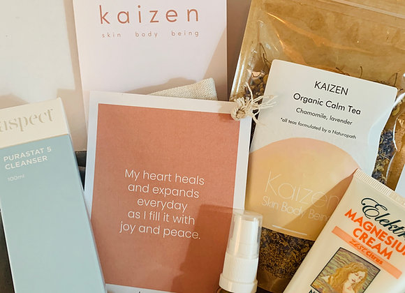Relax and reset gift box