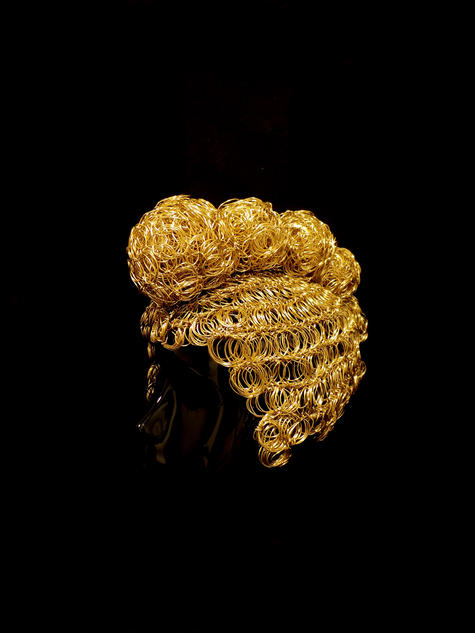 Golden Mohawk by Atelier MAUKE V
