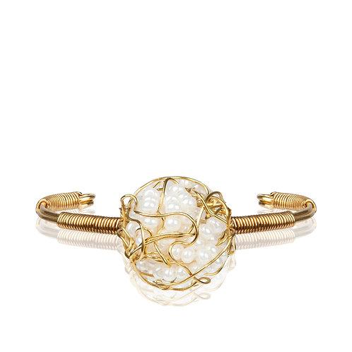 My Treasure Bracelet Bridal White