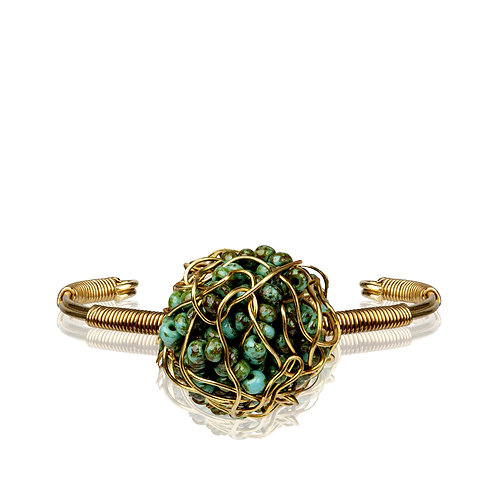 My Treasure Bracelet Antique Green