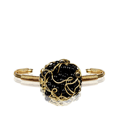 My Treasure Bracelet Black Velvet
