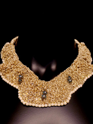 Neckpiece Collar by Atelier MAUKE V