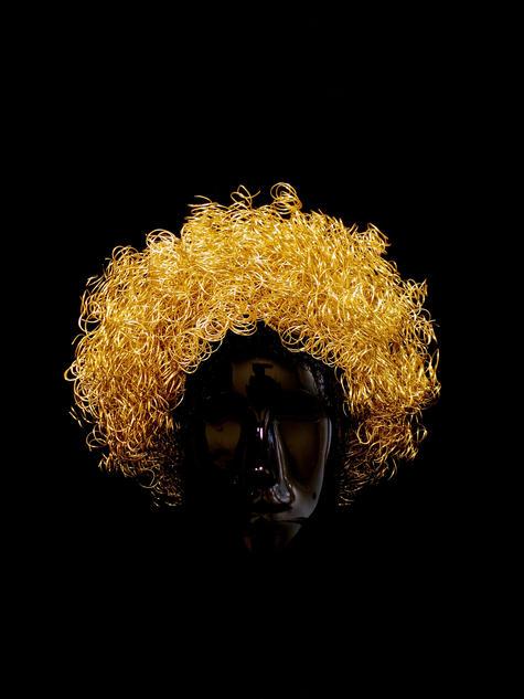 Golden Afro by Atelier MAUKE V