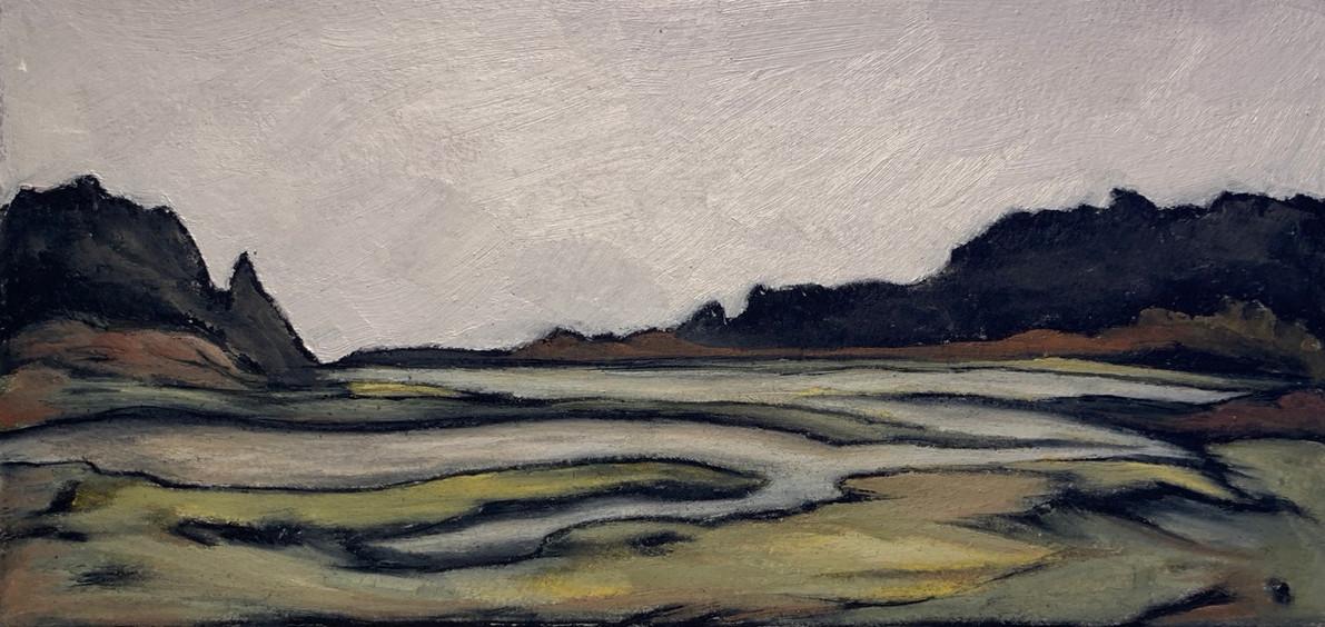Coastal Daydream, sketch