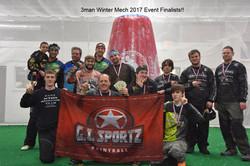 3man Winter Mech 2017 Event Finalist