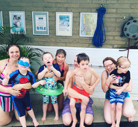1st group Saturday Sensory Swim Classes.