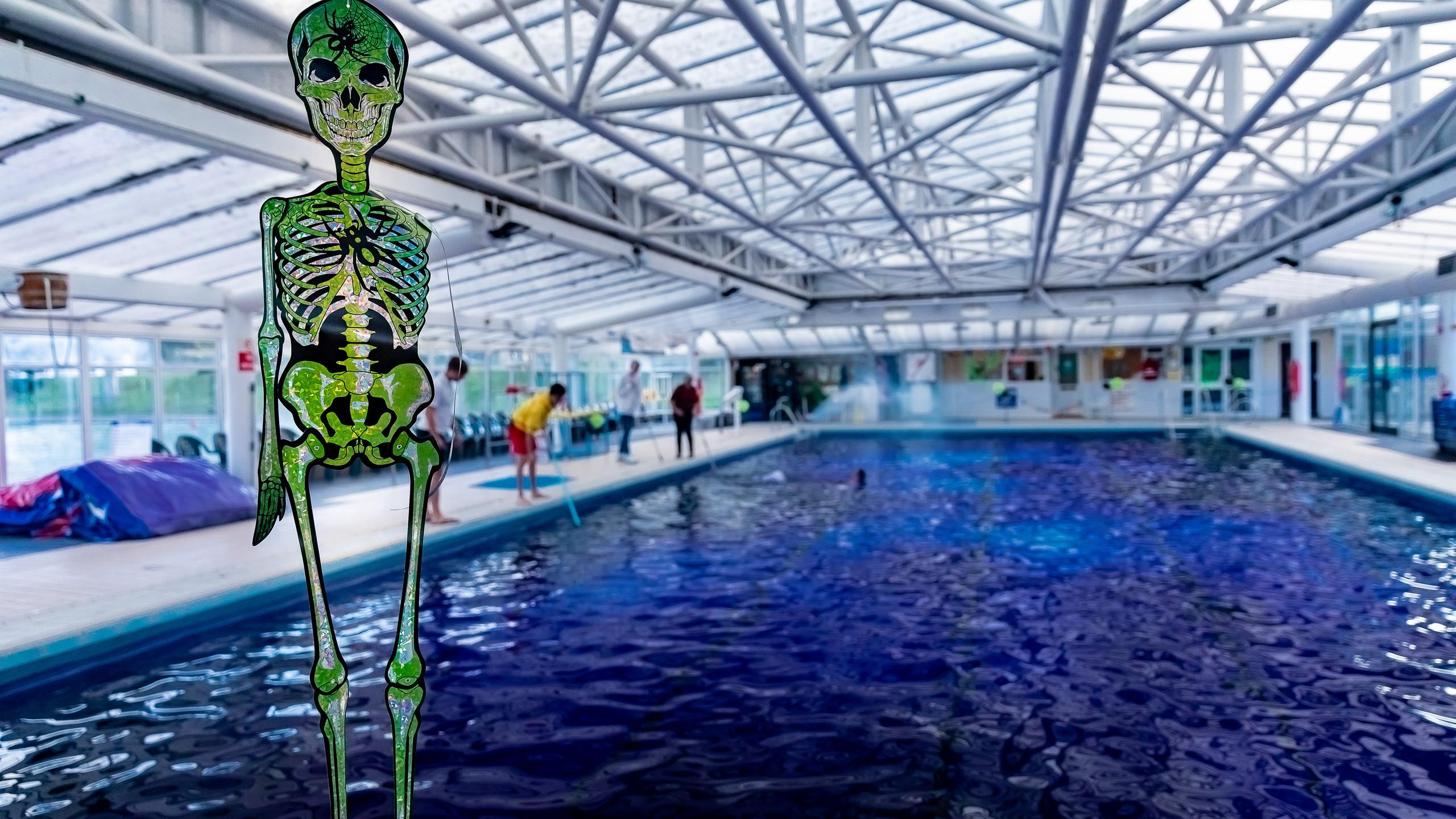 Spooky Swim Waterside pool