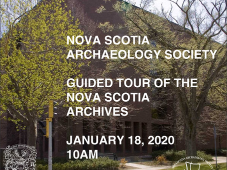 NSAS Member Tour of the Nova Scotia Archives