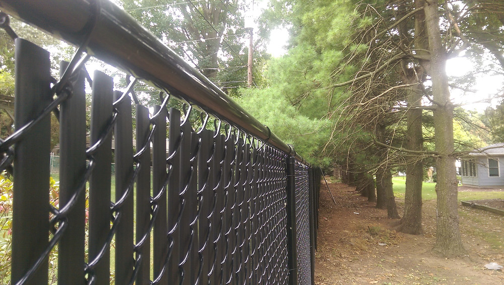 Bottom Lock Privacy Slats for Chain Link Fence
