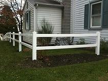 2 Rail with Flat Post Caps