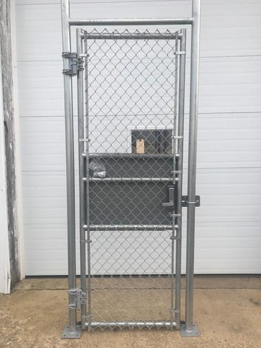 Galvanized Gate