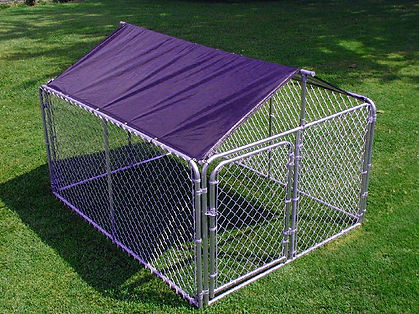 Dog Kennel Roof & Frame