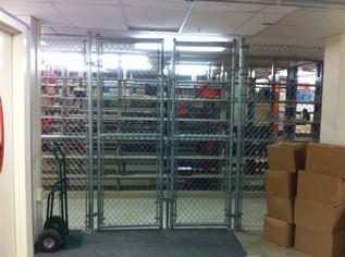 Indoor Chain Link Security