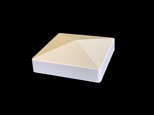 "5""x 5"" Flat Vinyl Post Cap - Tan - 1011NA"